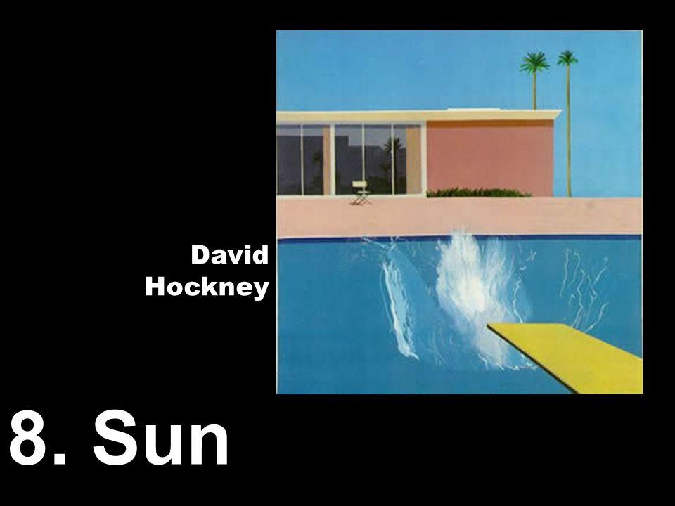 8. Sun David Hockney