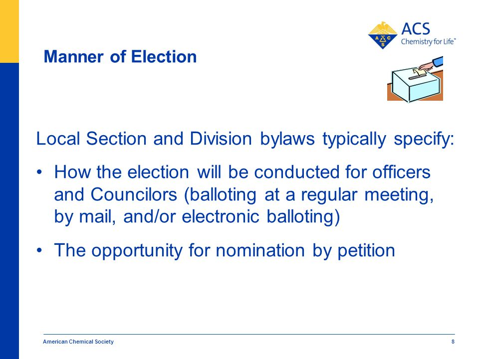 Local Section/Division Election Procedures How have you identified candidates for local section/division offices.