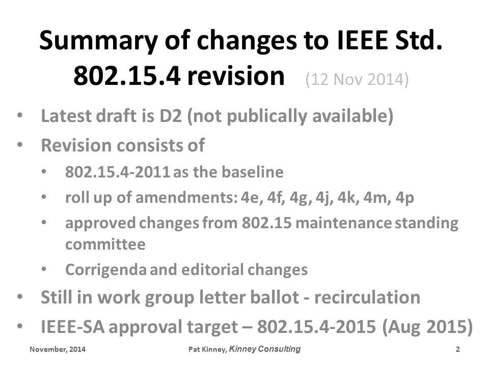 Editorial Changes Size reduction: even though D2 is 661 pages, it's consists of 15.4-2011 and 7 amendments which added up to 1324 pages.