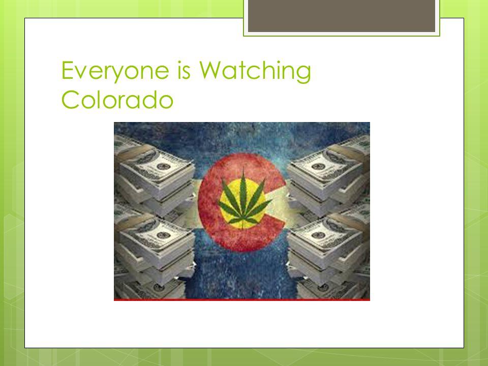 Everyone is Watching Colorado