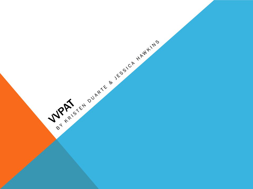 WHAT IS VVPAT.