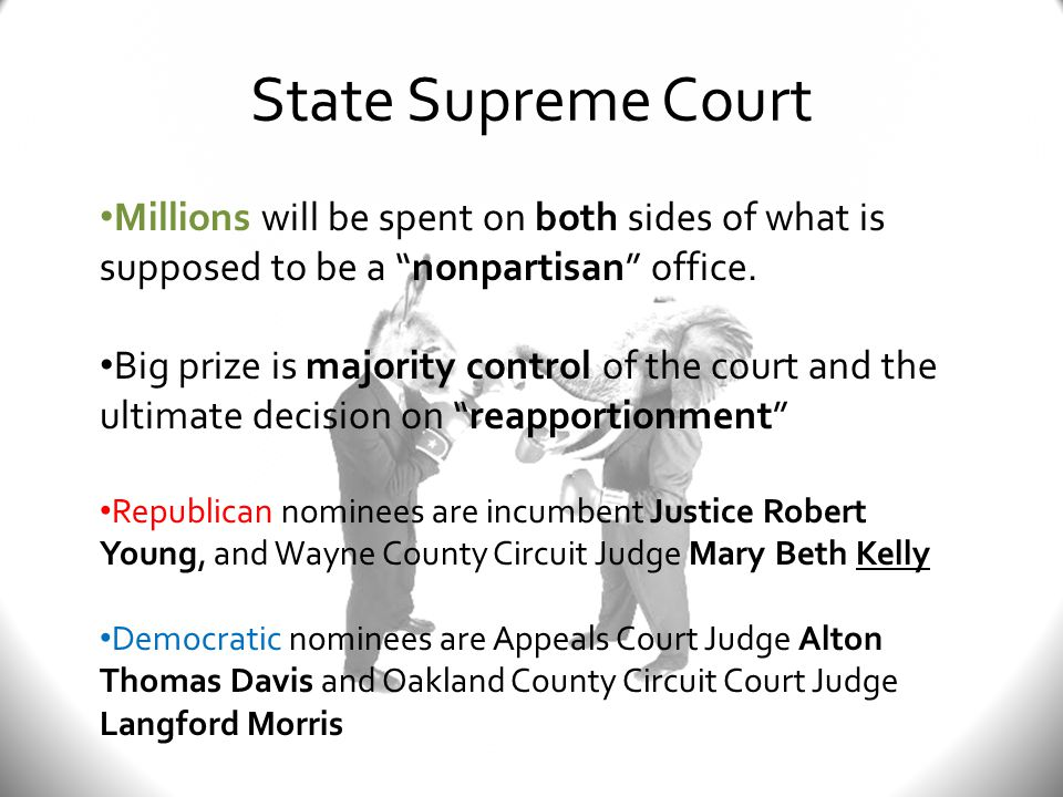 Two Statewide Ballot Questions Proposal 1 Every 16 years MI voters are asked if the state should hold a constitutional convention.