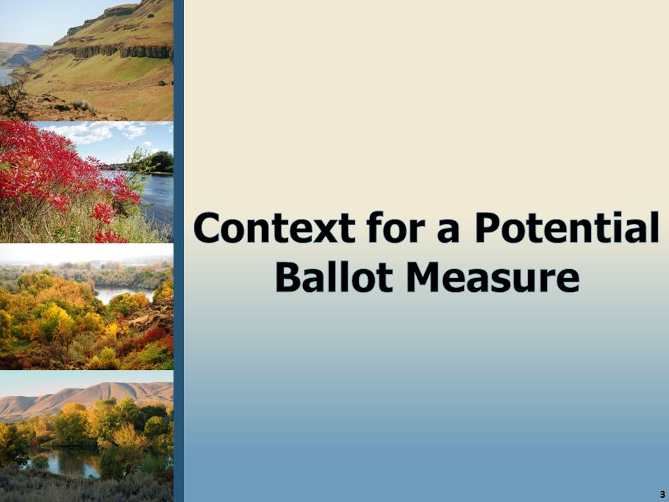 24 Conclusions  Unsurprisingly, the survey shows that efforts to pass a conservation futures tax in Benton County face a conservative electorate with some innate skepticism about new taxes.