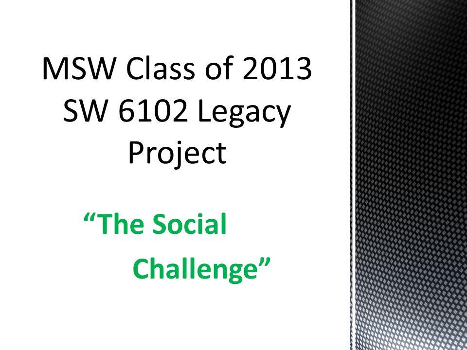 The Social Challenge