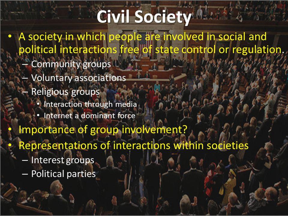 Civil Society vs.