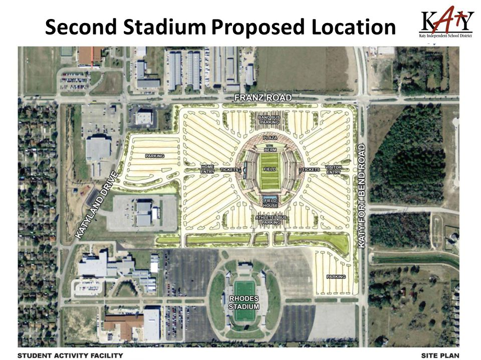Second Stadium Proposed Location