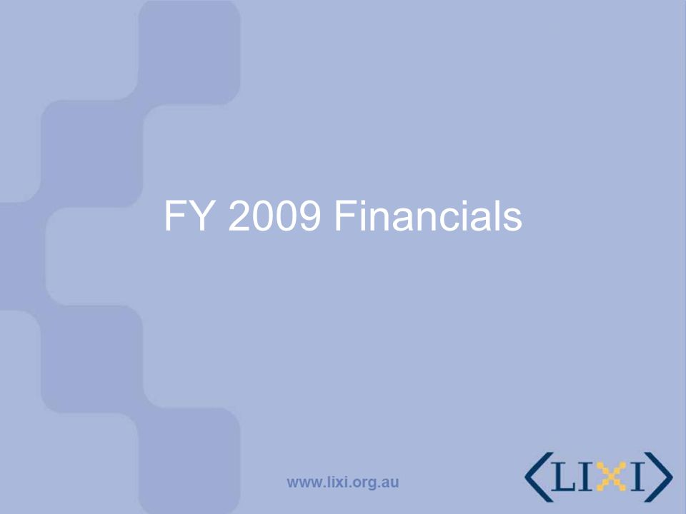 PROFIT AND LOSS STATEMENT FOR THE YEAR ENDED 30 JUNE 2009