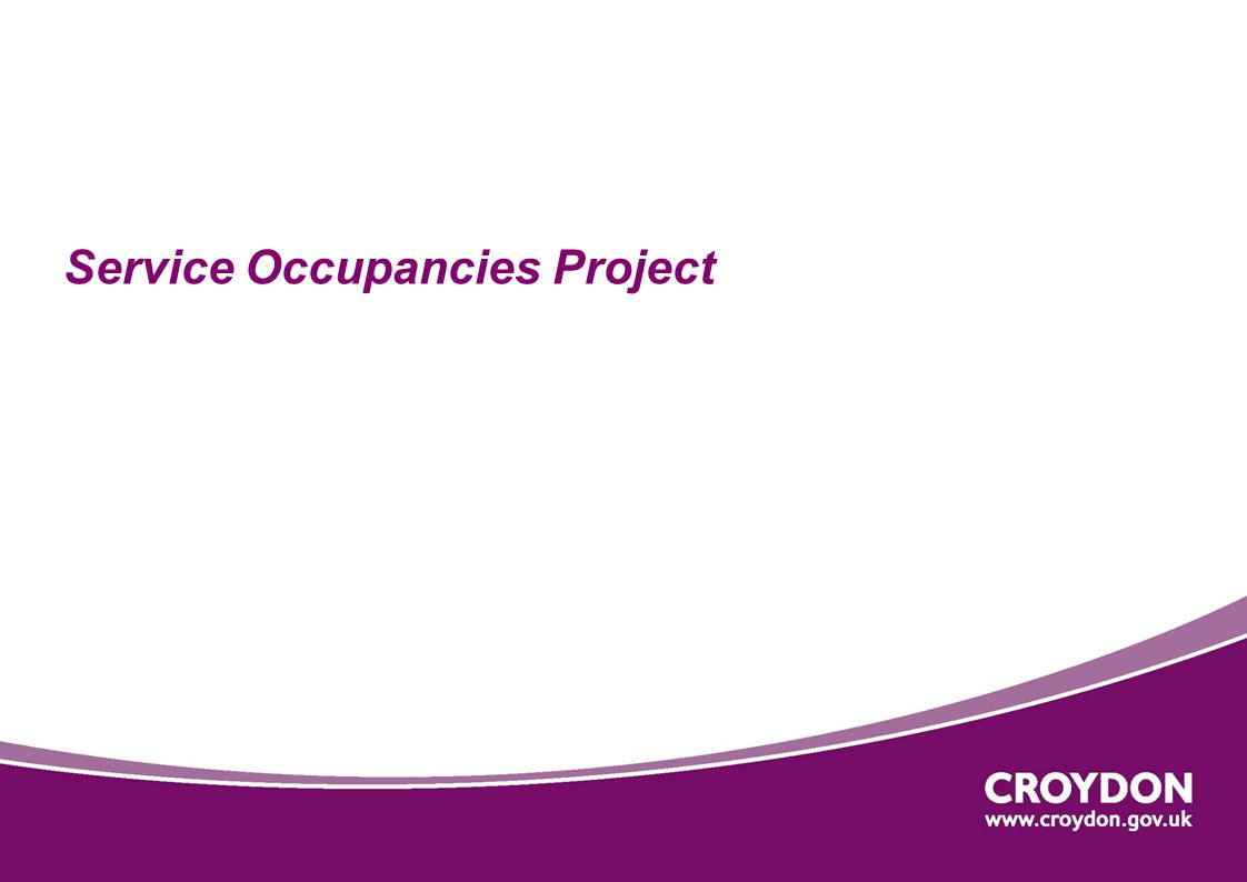 Service Occupancies Project