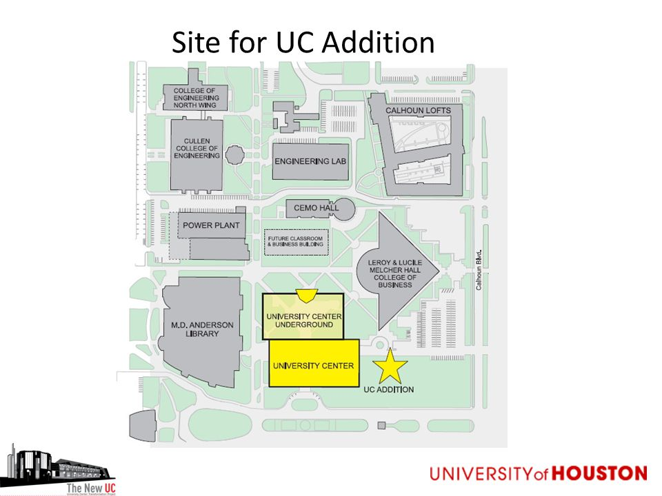 Site for UC Addition
