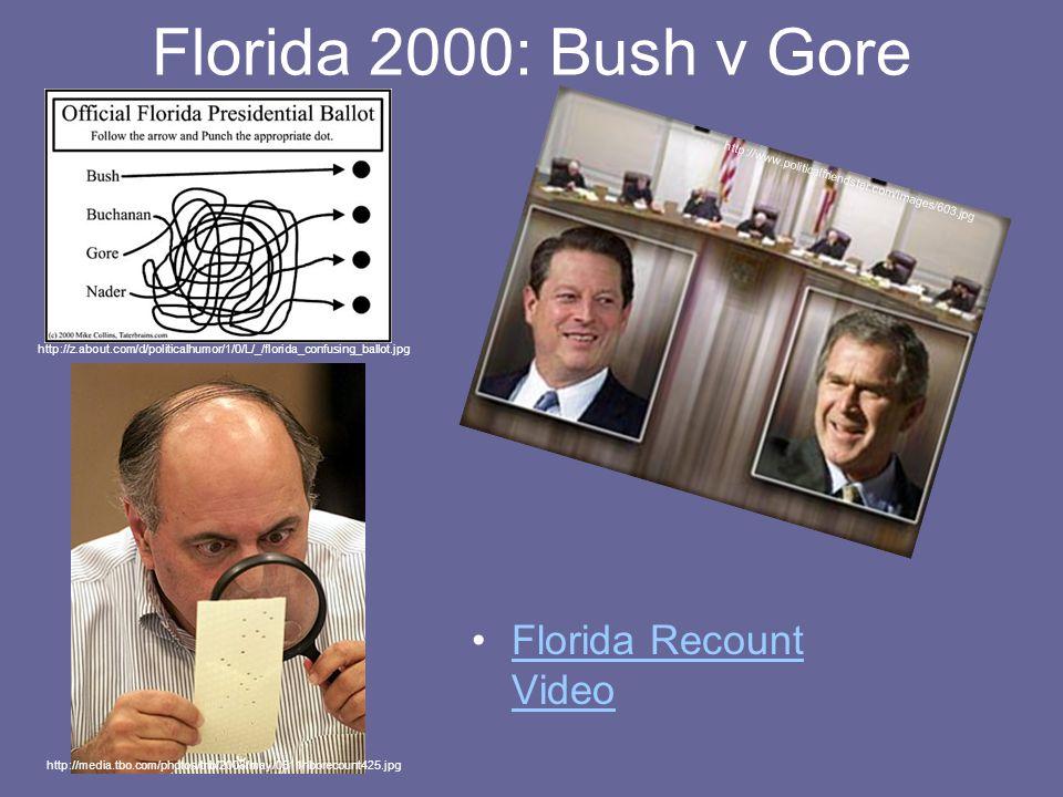 Florida 2000: Bush v Gore Florida Recount VideoFlorida Recount Video http://z.about.com/d/politicalhumor/1/0/L/_/florida_confusing_ballot.jpg http://w