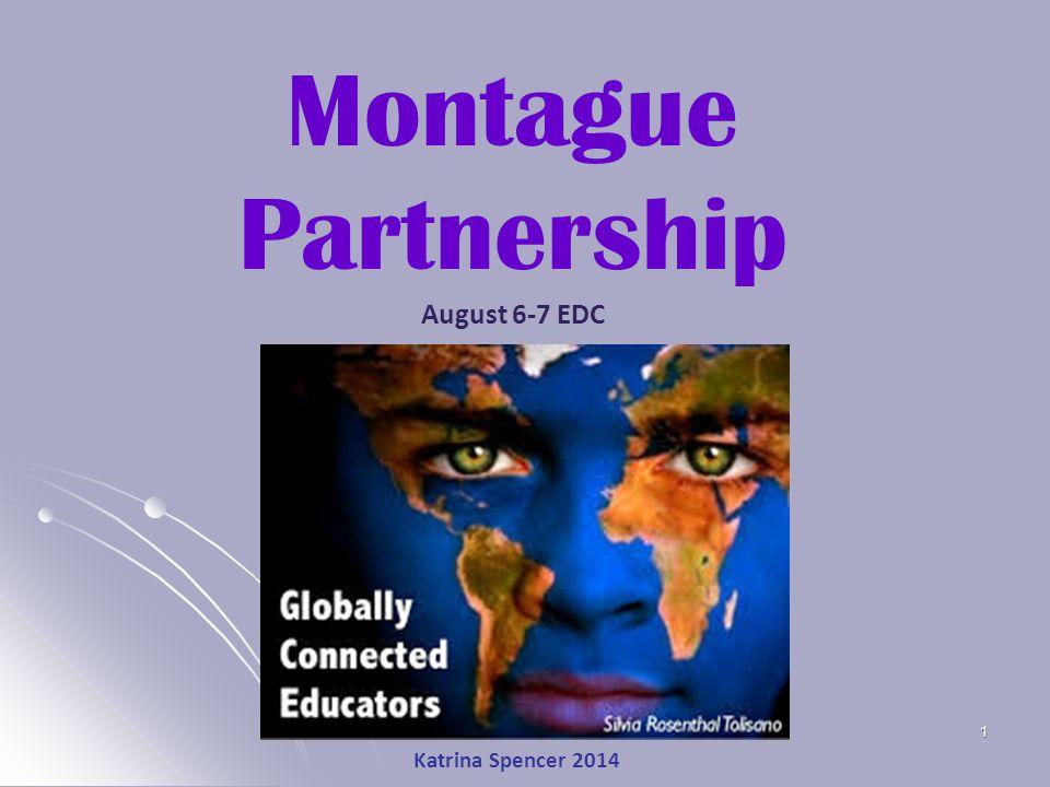 Katrina Spencer 2014 1 Montague Partnership August 6-7 EDC