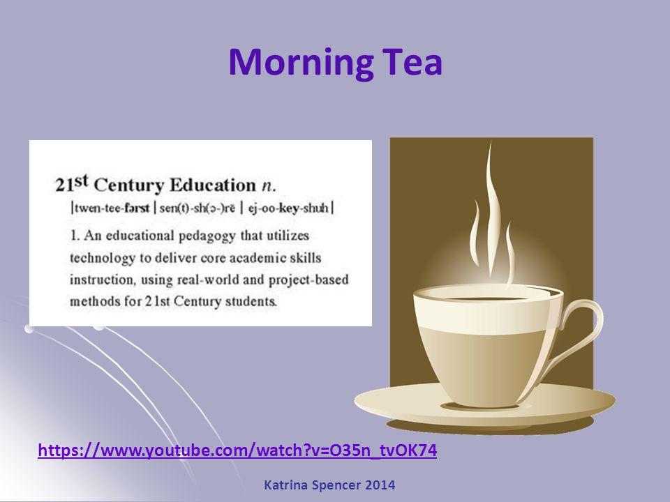 Katrina Spencer 2014 Morning Tea https://www.youtube.com/watch v=O35n_tvOK74