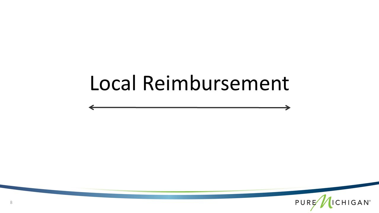 Local Reimbursement 8