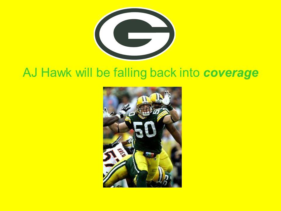 AJ Hawk will be falling back into coverage
