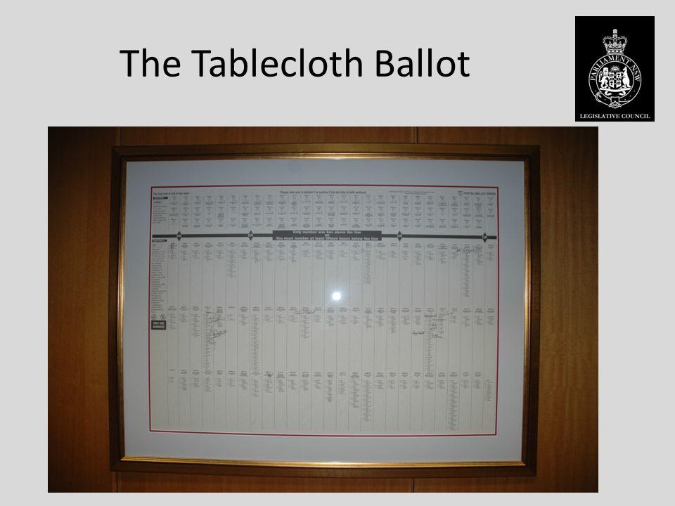 The Tablecloth Ballot