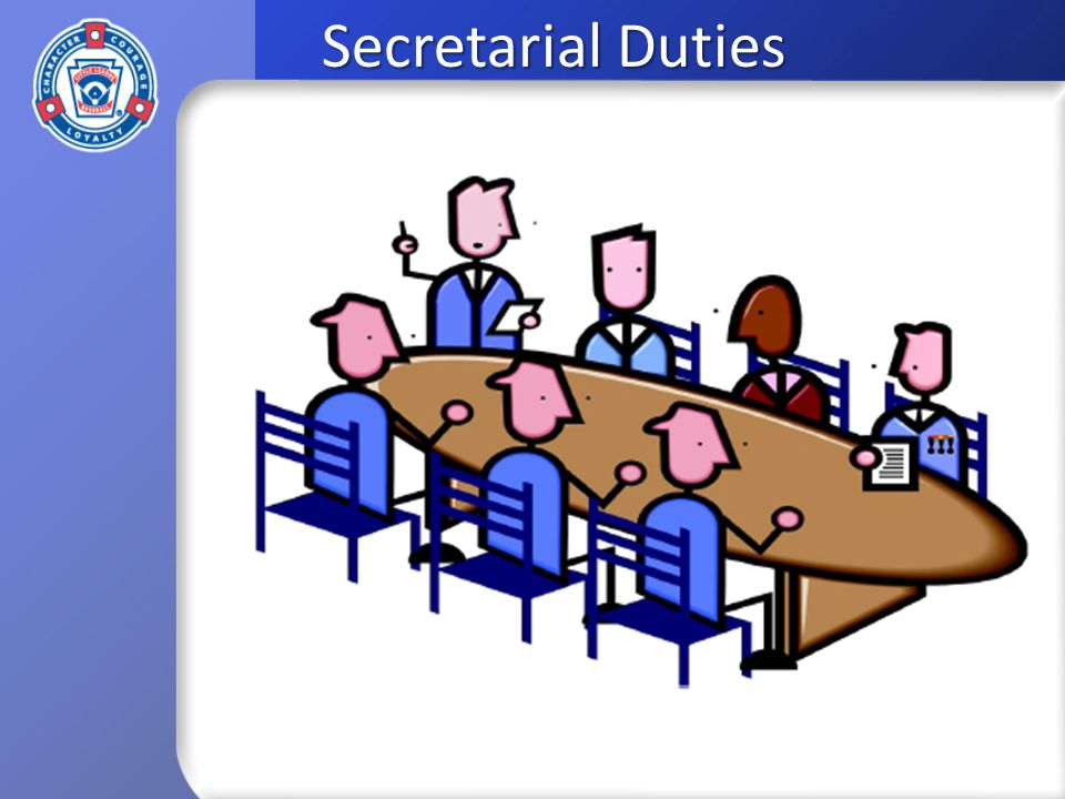 Secretarial Duties