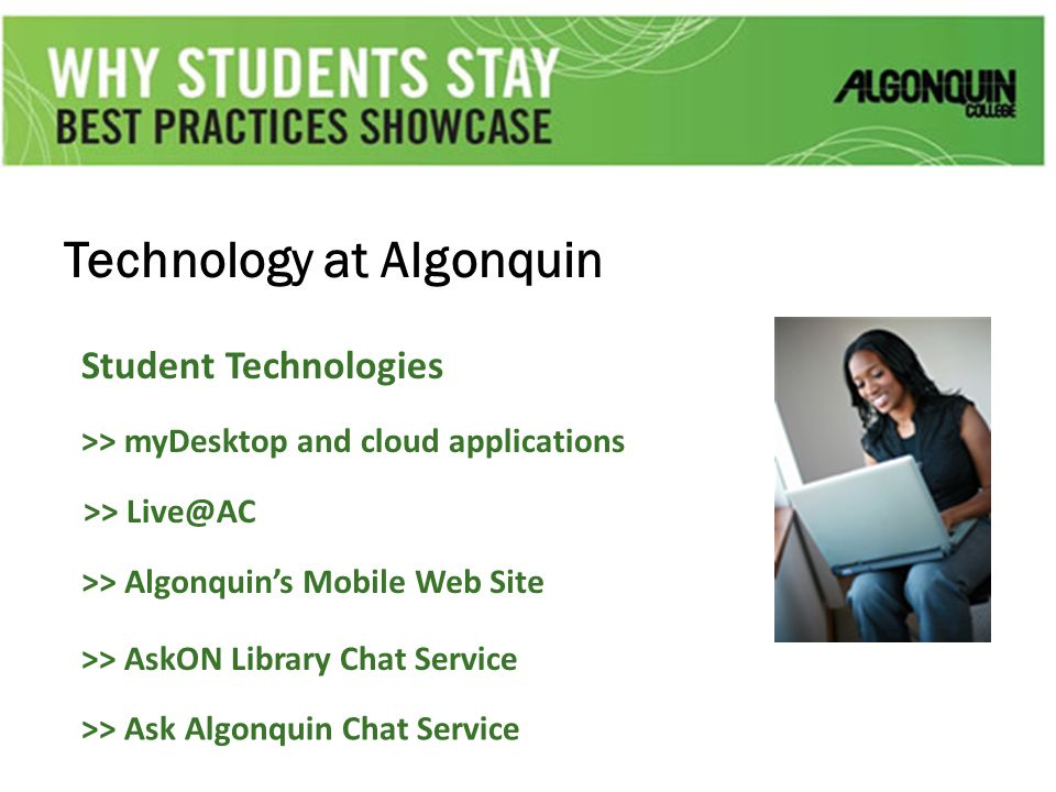Technology at Algonquin Student Technologies >> myDesktop and cloud applications >> Live@AC >> Algonquin's Mobile Web Site >> AskON Library Chat Servi