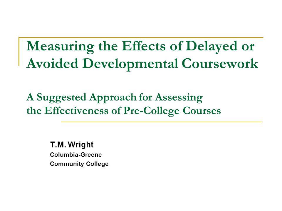 The Columbia-Greene Study Results