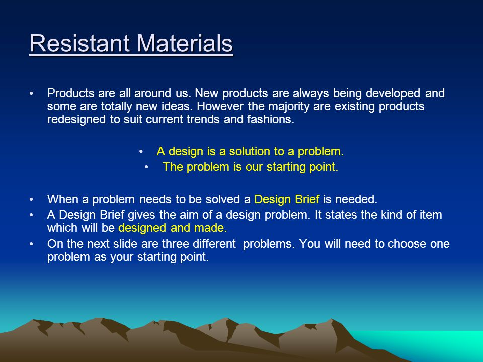 Objective Five tasks Tasks to be completed: Produce a plan of action which considers: materials, pre-manufactured items, equipment, processes and health and safety issues against an order of work and the need to make products that match the design specification; Select and use tools, equipment and processes effectively and safely; Economically prepare materials/pre-manufactured items for production, allowing for waste and fine finish; Complete a quality outcome suitable for the intended user or users, ensure that their outcome functions effectively; Be prepared to adapt working procedures in response to changing circumstances; use a range of skills and techniques appropriate to the task; Where appropriate apply a range of industrial techniques when working with familiar materials and processes.
