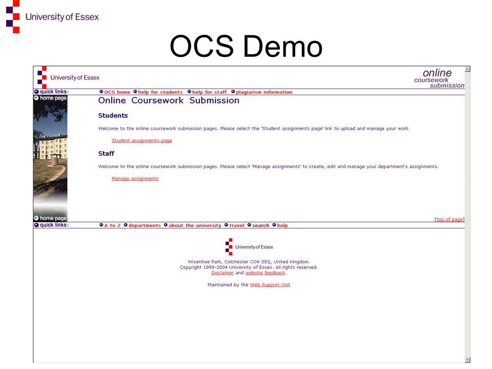 OCS Demo