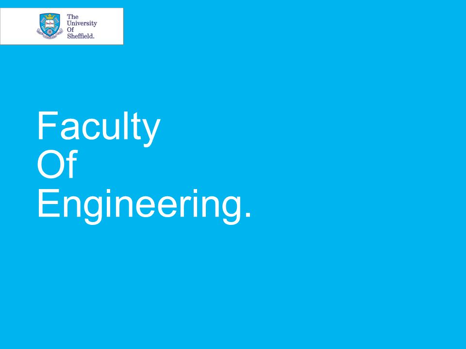 Faculty Of Engineering.
