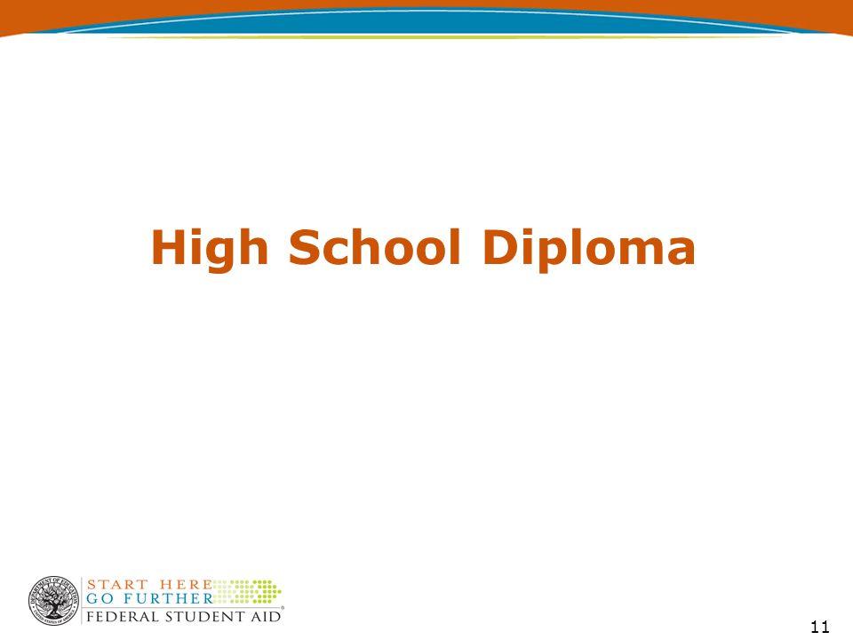 High School Diploma 11
