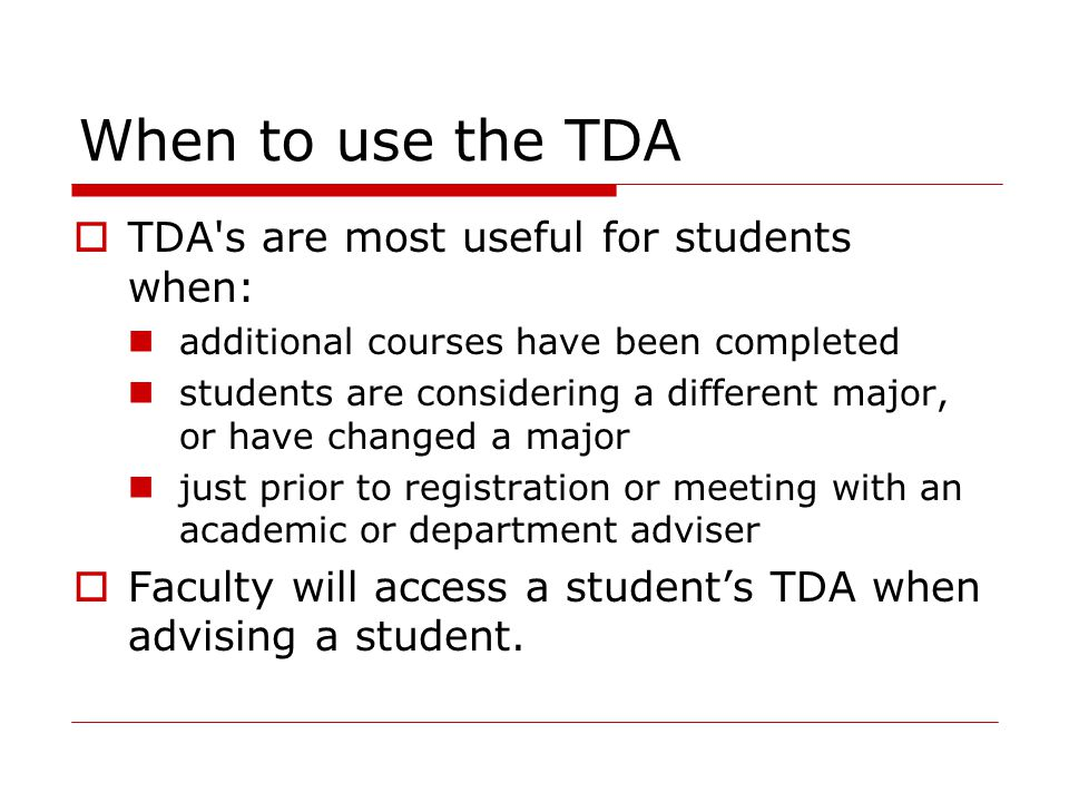 How to obtain your student's TDA  Login to SIS+, type DR1, press enter