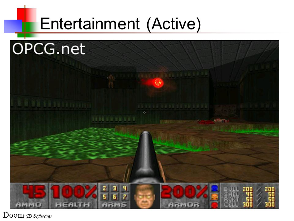 Entertainment (Active) Doom (ID Software)