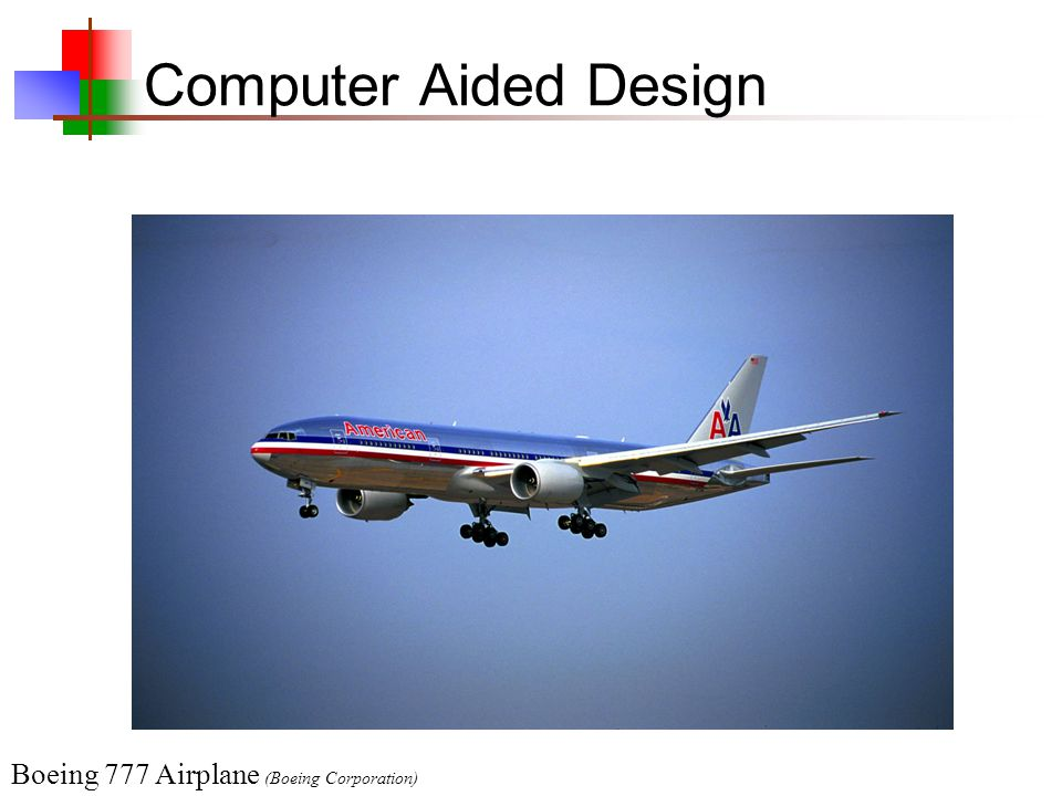 Computer Aided Design Boeing 777 Airplane (Boeing Corporation)