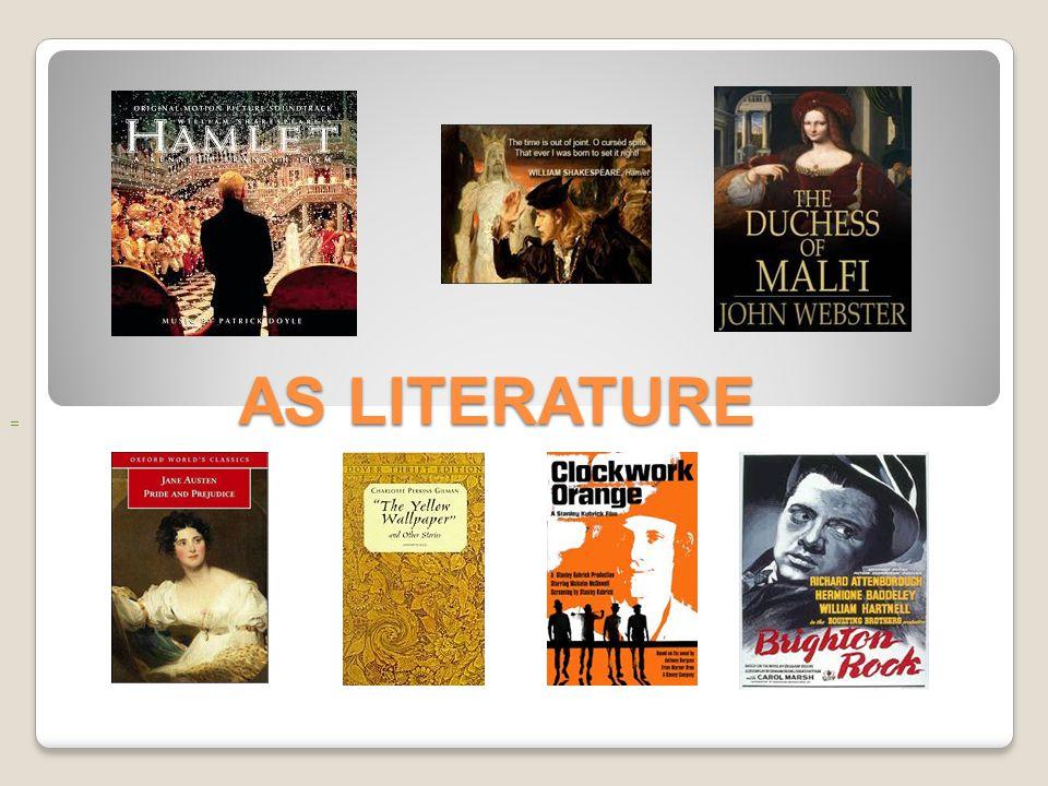 AS LITERATURE