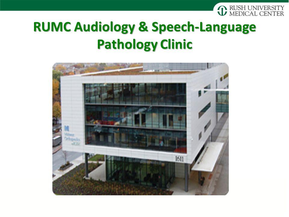 RUMC Audiology & Speech-Language Pathology Clinic