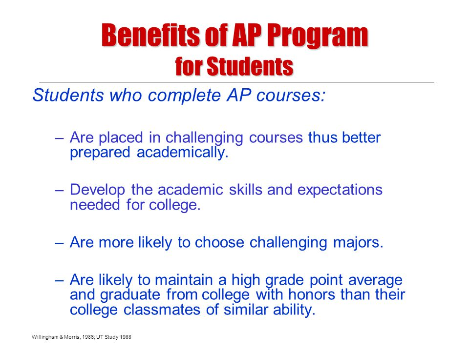 Build strong vertical teams through: Building a Successful Advanced Placement Program Leadership of strong AP teachers Recruiting and training Developing pre-AP curriculum Providing time More inclusive enrollment