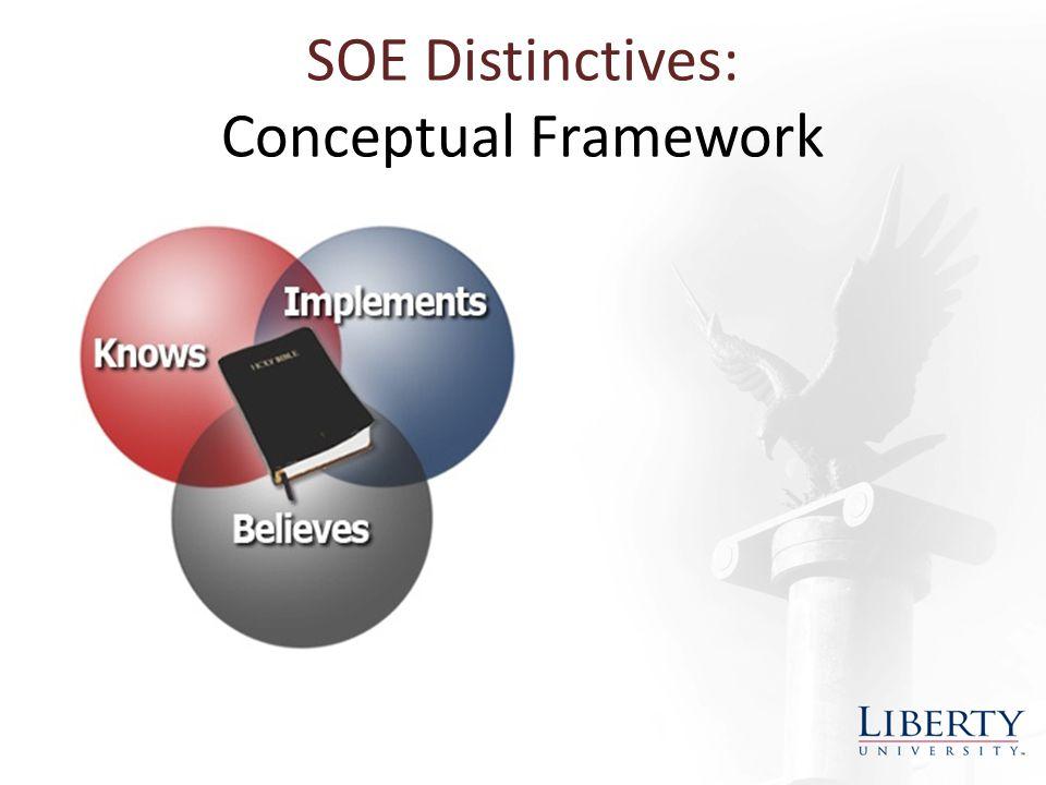 SOE Distinctives: Conceptual Framework