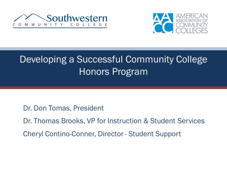 Dr. Don Tomas, President Dr.