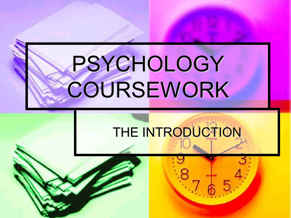 RATIONALE/PURPOSE HL The introduction is a literature/research review of the topic area you are studying.