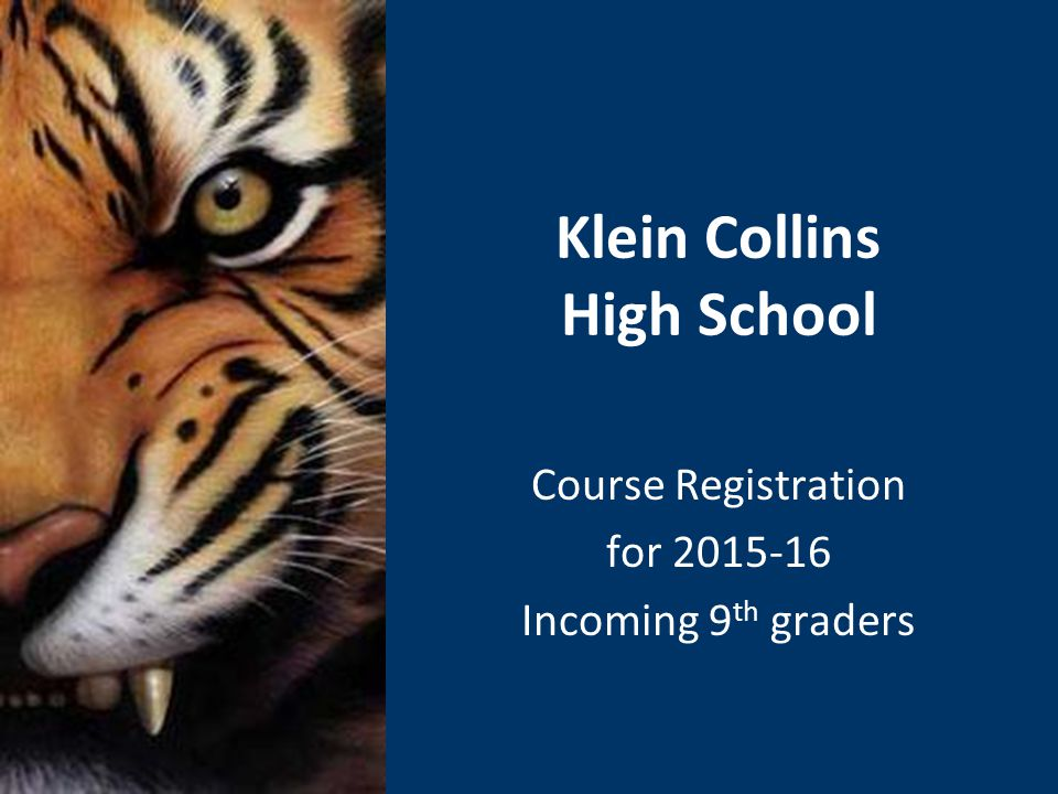 KCHS Website http://kleincollins.kleinisd.net/ Check our website for announcements, deadlines, College and Scholarship information, other useful material.