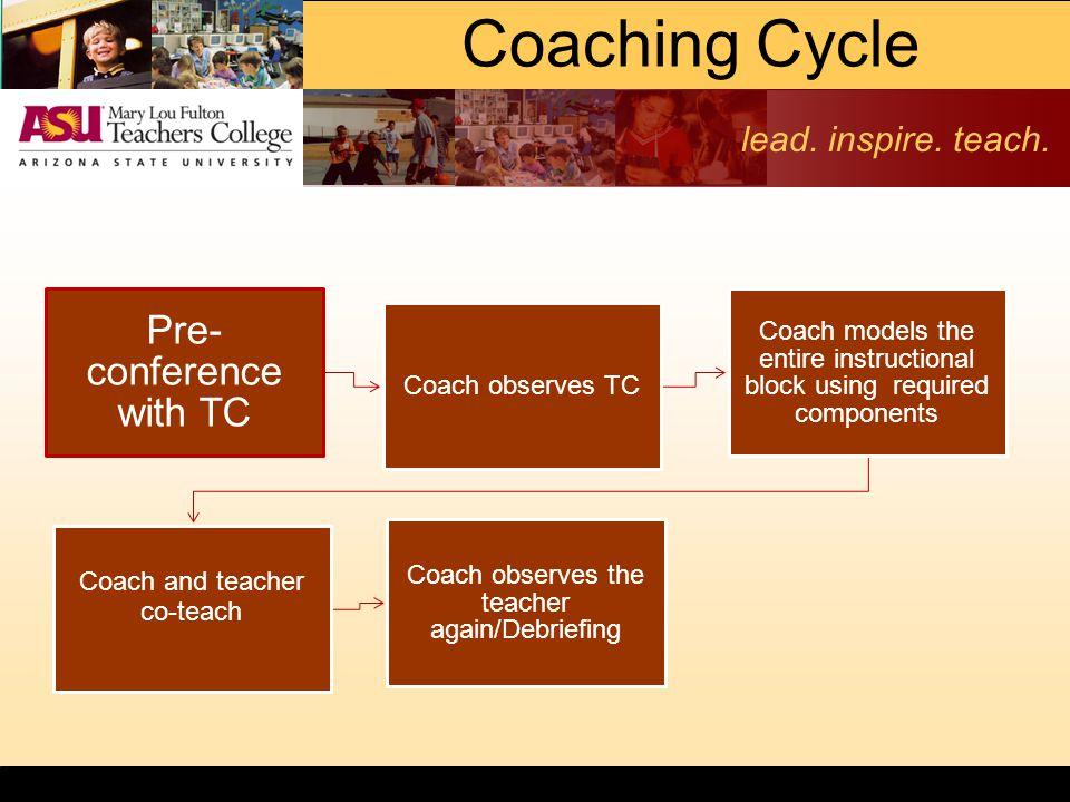 lead. inspire. teach.