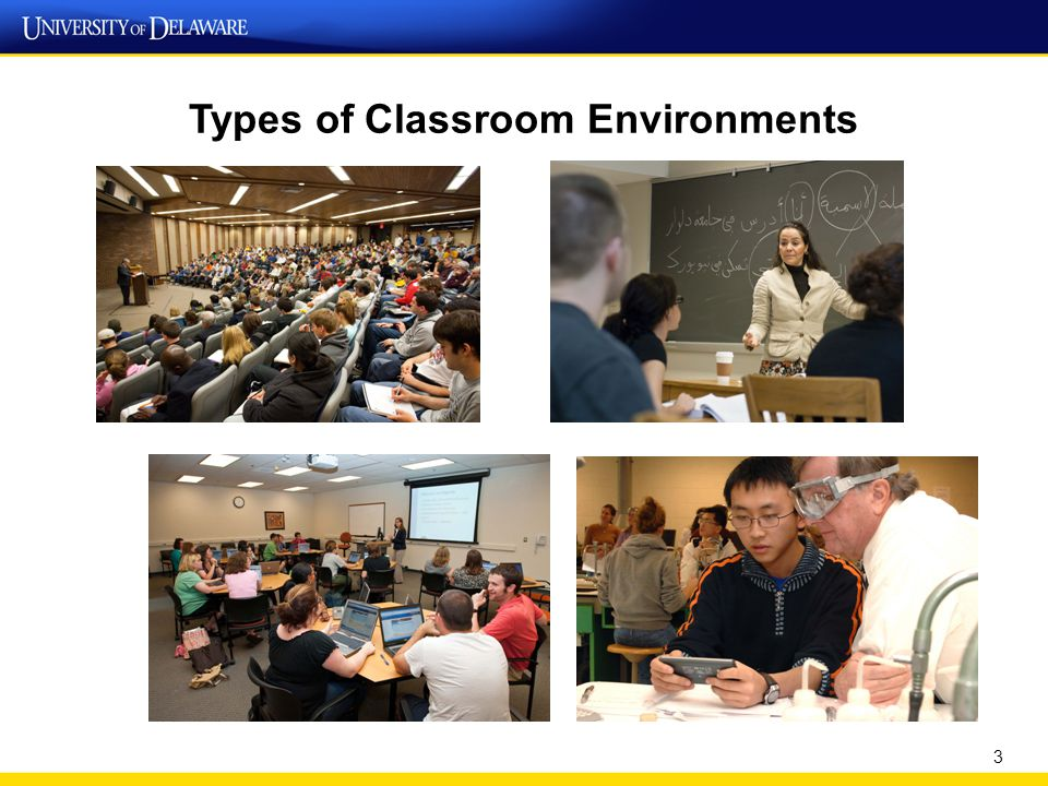 Types of Classroom Environments 3