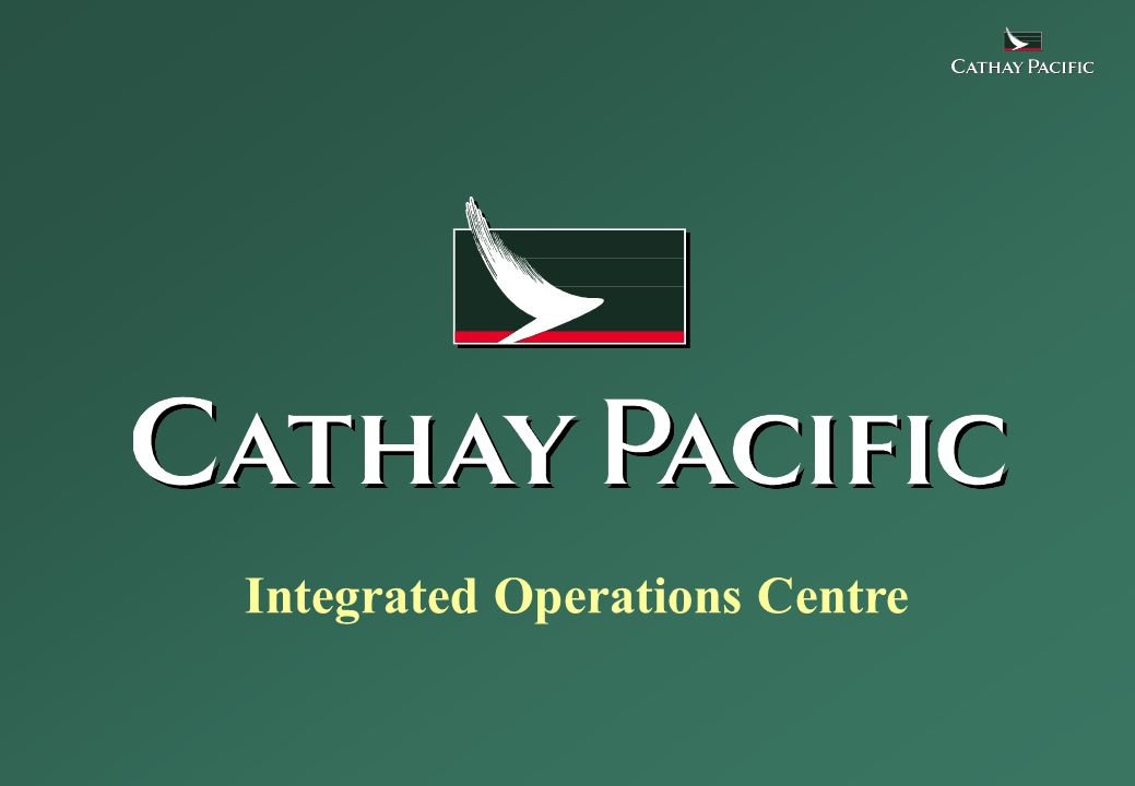 Integrated Operations Centre