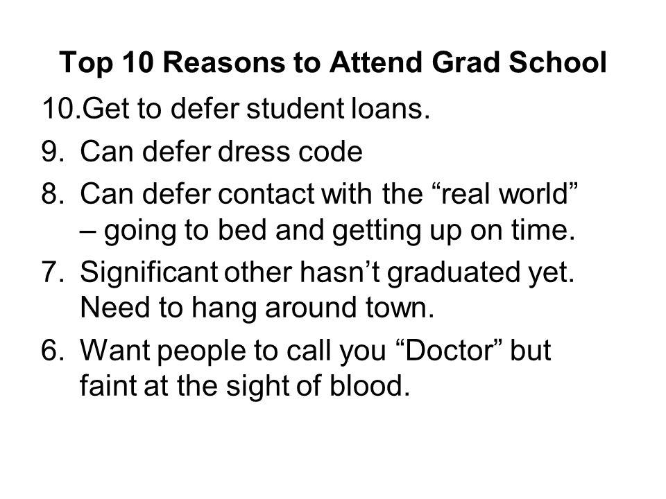 Applying to Grad School: Which School?