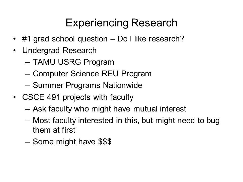 Applying to Grad School: Which Degree?