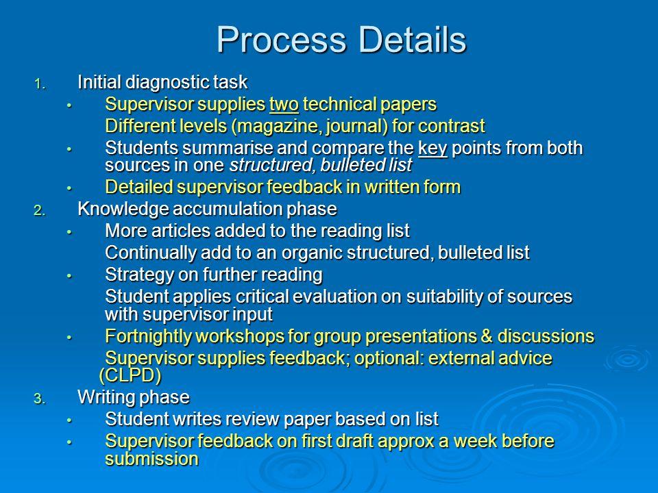 Process Details 1.