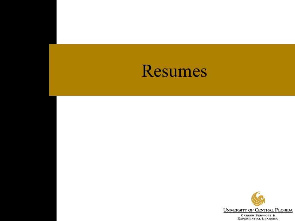 References  Separate page that complements resume  Lists professional contacts who have direct knowledge of your skills and qualifications  References may include faculty, former employers, and internship supervisors  Obtain permission from references in advance and provide them with current resume