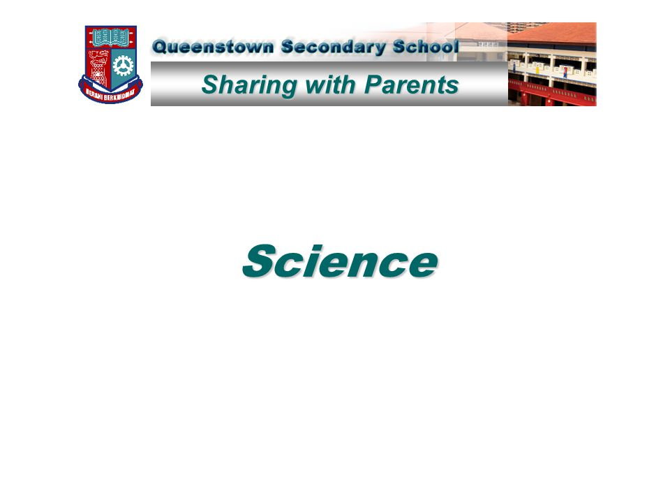 Sharing with Parents Science