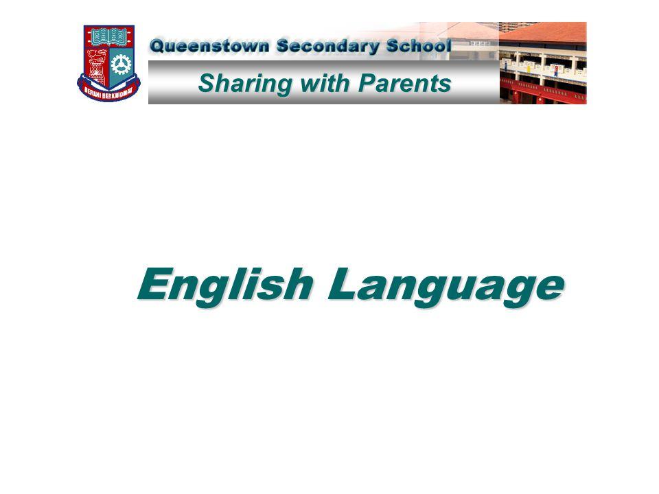 Sharing with Parents English Language