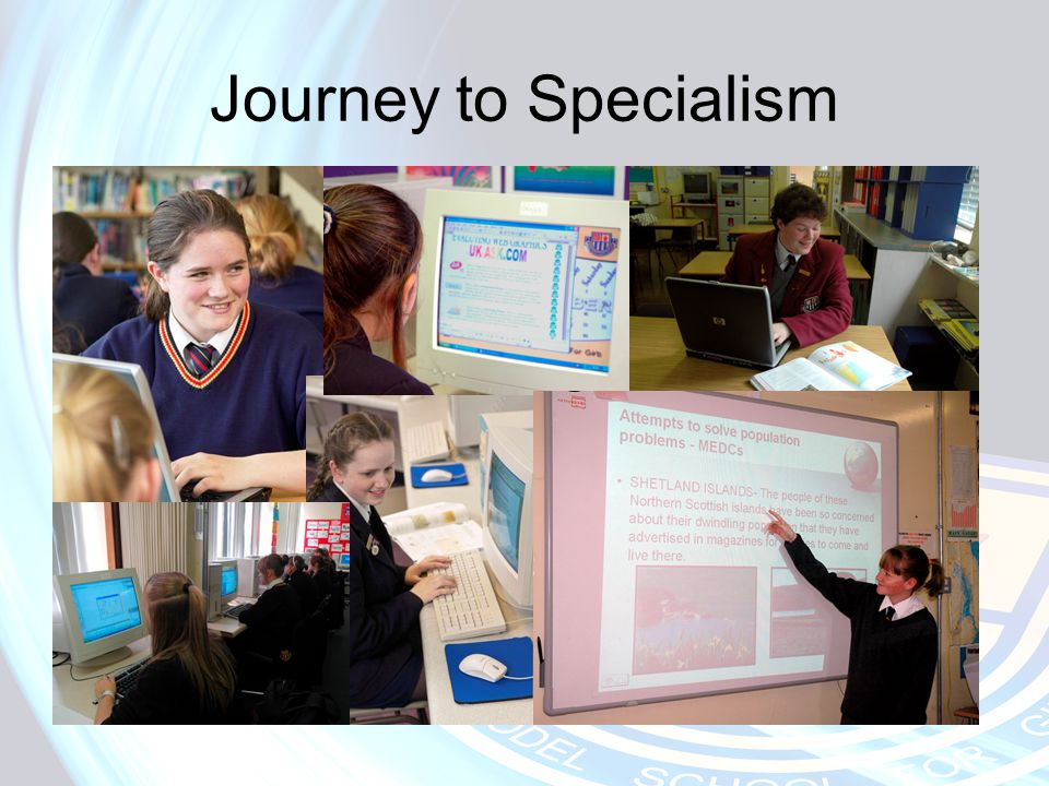 Journey to Specialism