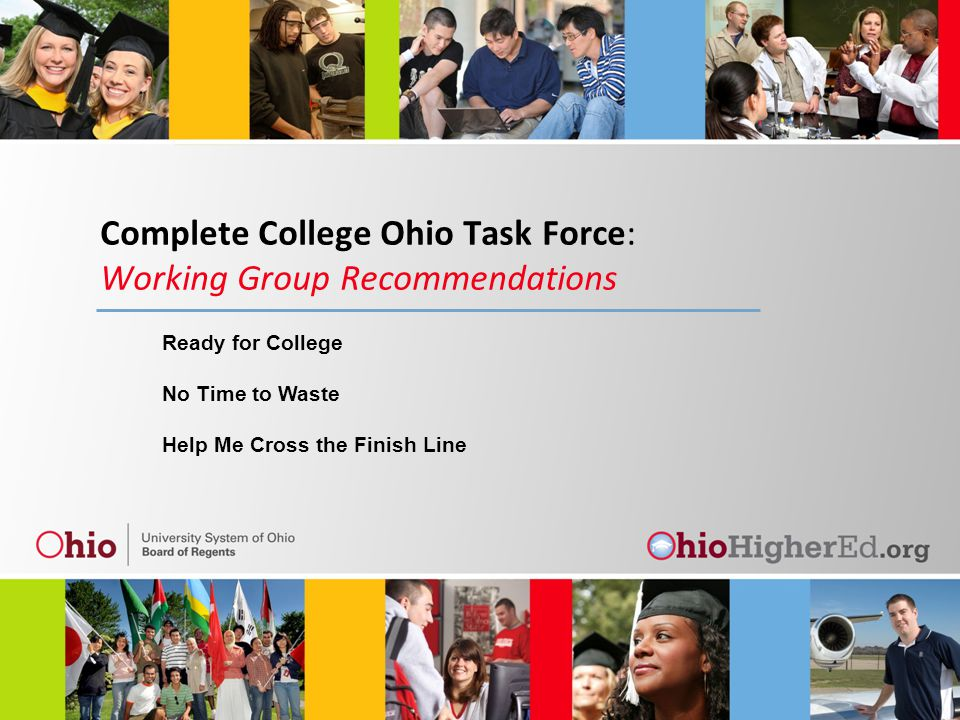 Recommendation 1: Adopt a consistent, statewide definition of college and career readiness that includes both academic and non-academic dimensions.