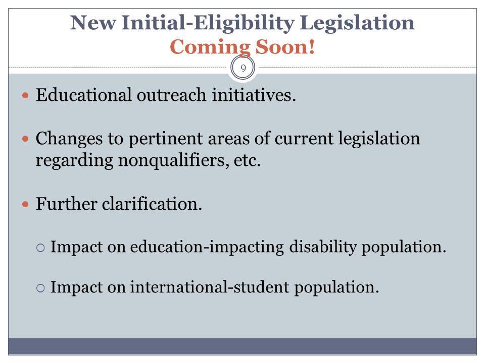 RECENT PROPOSALS & INTERPRETATIONS 10 Were there any other legislative developments in 2011-12?