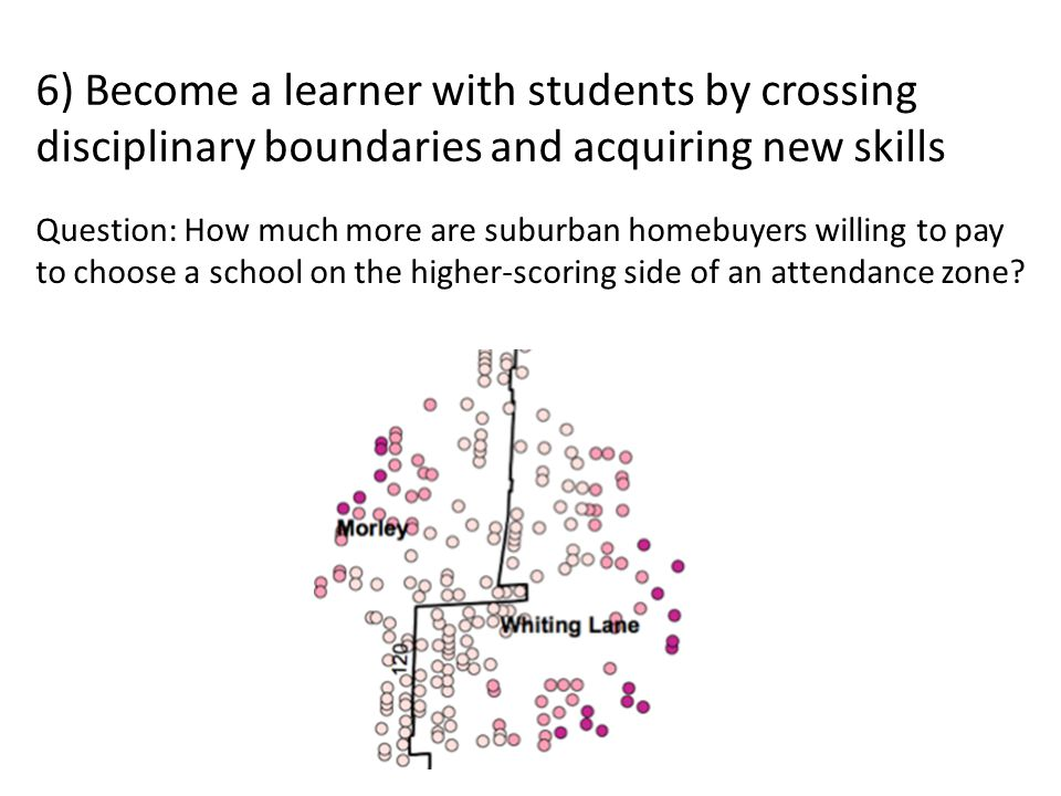 Question: How much more are suburban homebuyers willing to pay to choose a school on the higher-scoring side of an attendance zone