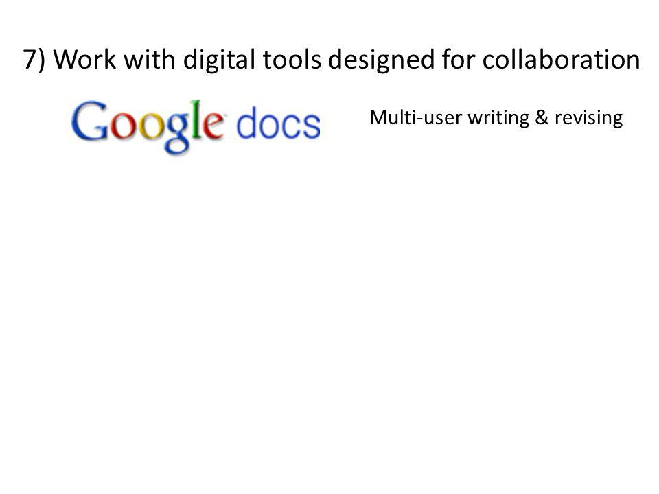 Multi-user writing & revising
